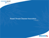 Mutant Kinase Disease Association Guide